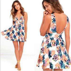 Revolve NBD Lightening Dress Summer Haze Floral
